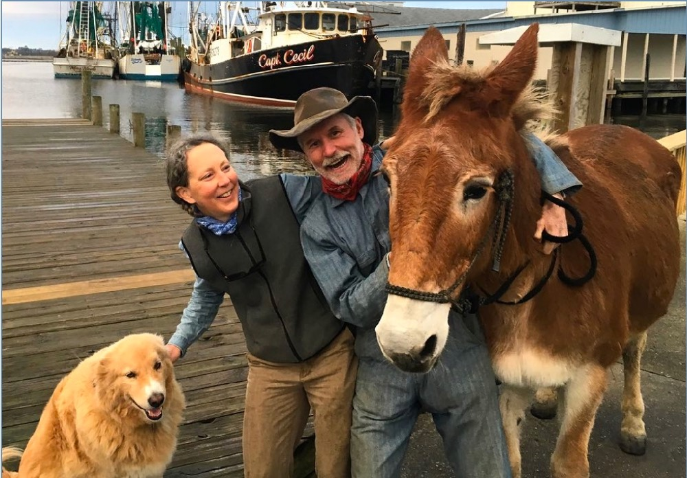 Bernie Harberts, julia carpenter, mule, marriage, married, getting married, engagement
