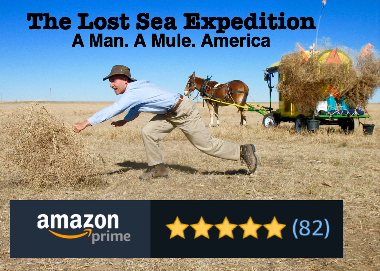 Bernie Harberts, mule, the lost sea expedition, amazon prime, tv series, documentary, mule polly