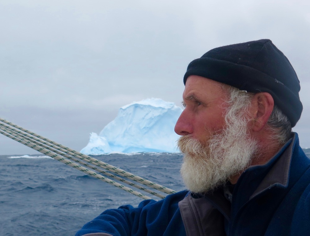 bernie harberts south georgia, ice berg southern ocean sailor raft pickle barrel barrel raft shanty boat adventure